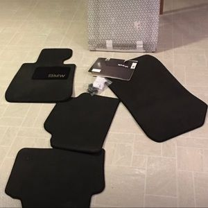 Bmw mats floor 3 series